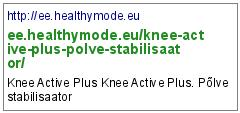 http://ee.healthymode.eu/knee-active-plus-polve-stabilisaator/